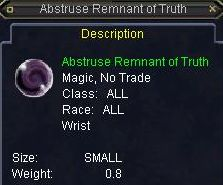 Abstruse Remnant of Truth