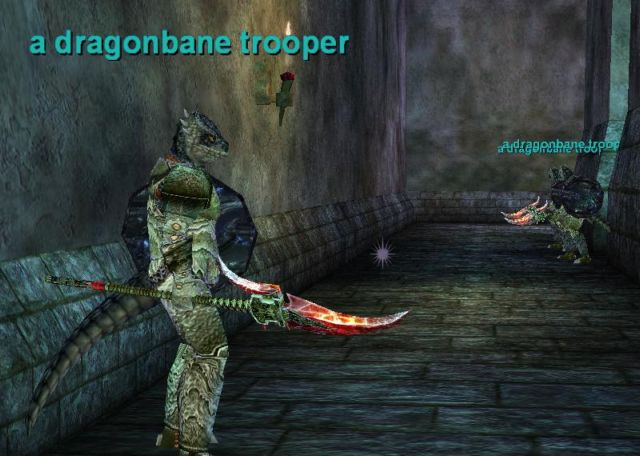 Defeat the Dragonbane Phalanxの一場面