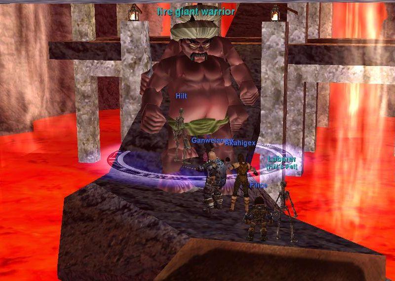 Ancient Heroes raidイベントの一こま
