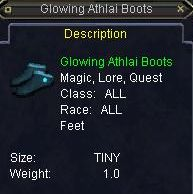 Glowing Athlai Boots
