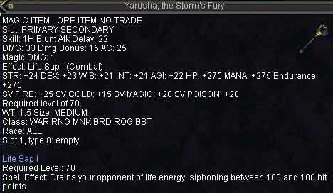 Yarusha,the Storm\'s Fury