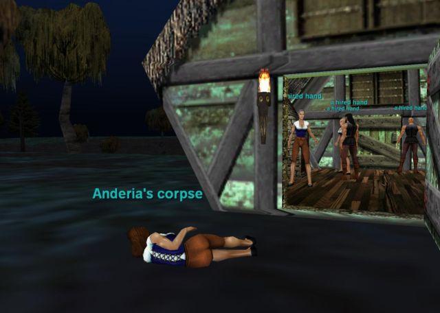Andrea殺害事件発生