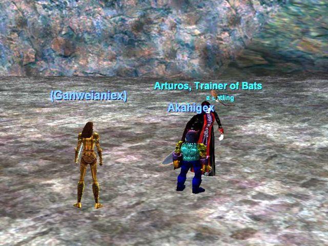 Arturos, Trainer of Bats