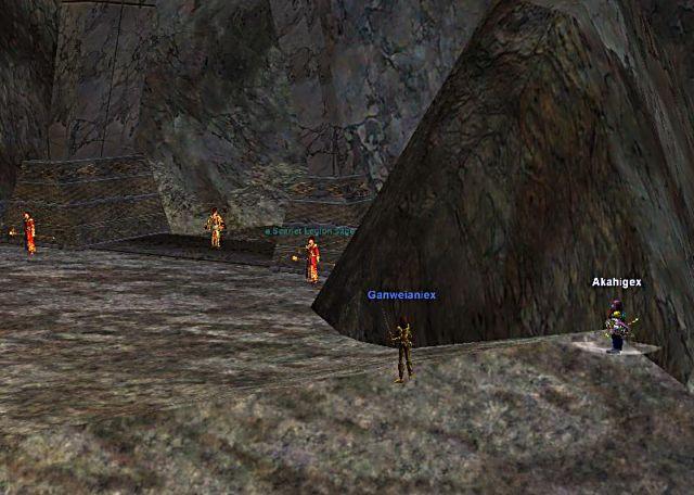 Ashengate西ルート3合目キャンプ地