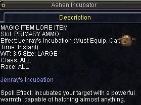 Ashen Incubator