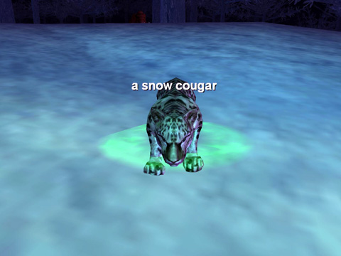 a snow cougar(New)