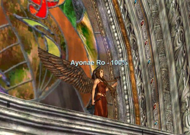 間近に見るAyonae Ro