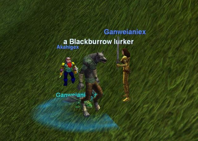 Blackburrow Lurker