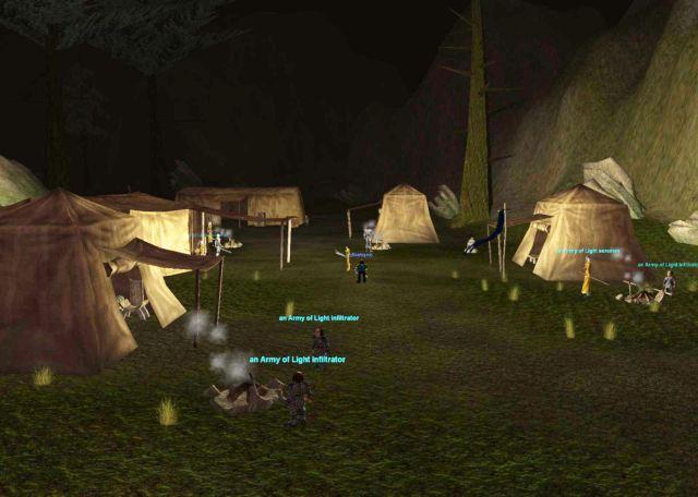 Bloddy Kithicorのキャンプ