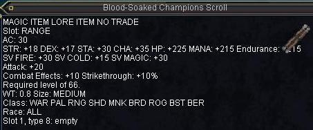 Blood-soacked Champions Scroll