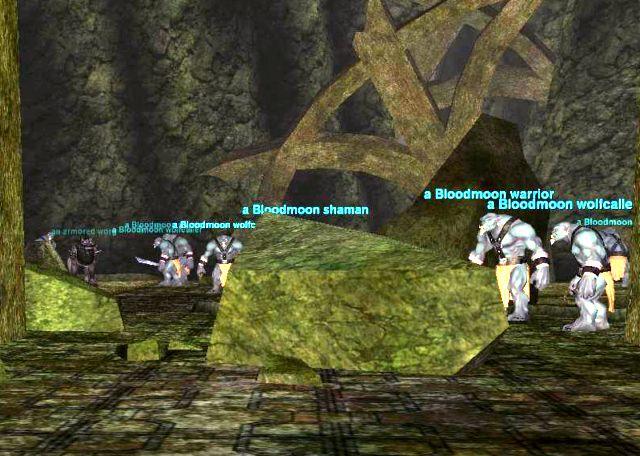 Bloodmoon Temple: Worg pen