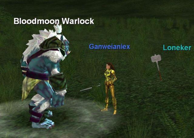 Bloodmoon Warlock