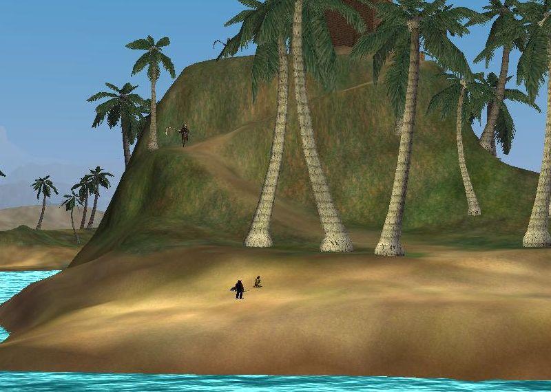 最後にSouth RoのSpecter島で待機