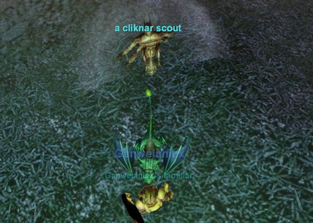 ホットゾーンのCliknar Scout