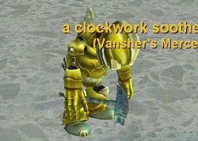 clockwork sootherの武器