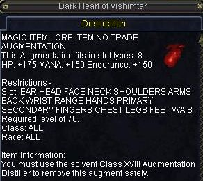 Dark Heart of Vishimtar