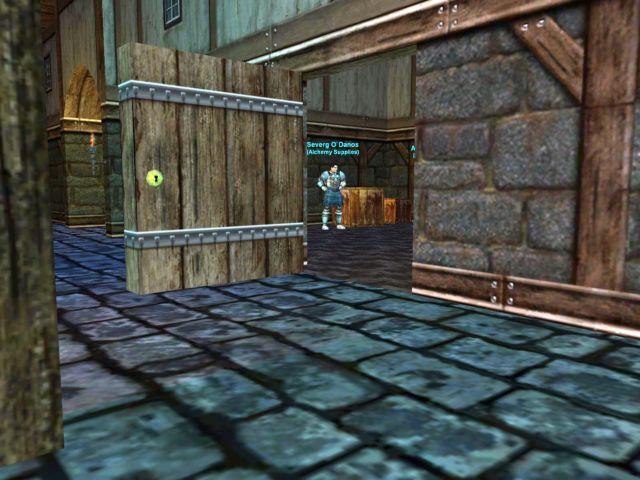 PoKのベンダー小屋の閉まらずの戸