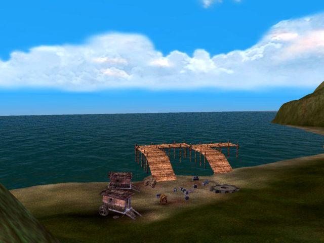 Dragonscale Hillsの港