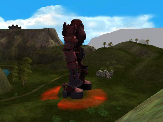 Dragonscale Hillsの巨大ロボ