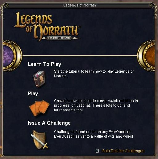 EQ内Legends of Norrath