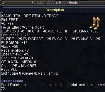 Forgotten Artist\'s Mesh Boots