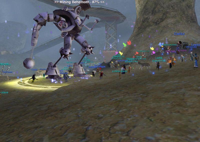 Mining Behemoth