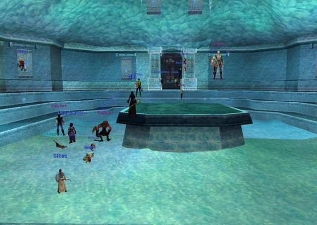Frostcryptのお立ち台