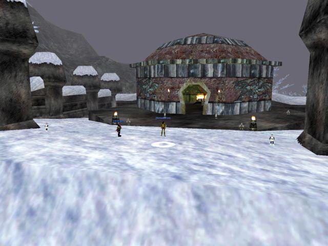 Coldainに占領されたGiant Fort