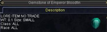 Gemstone of Emperor Bloodfin