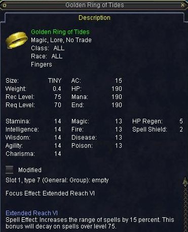 Golden Ring of Tides