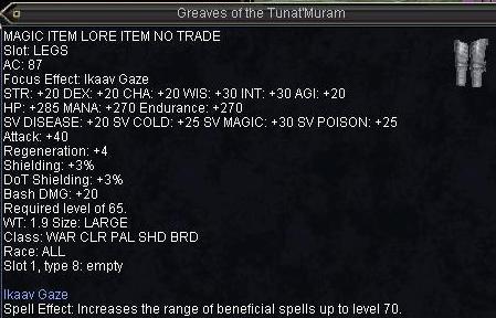 Greaves of the Tuna\'Muram