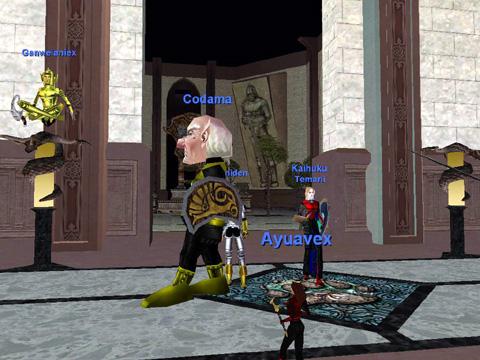 Guild Lobbyの風景