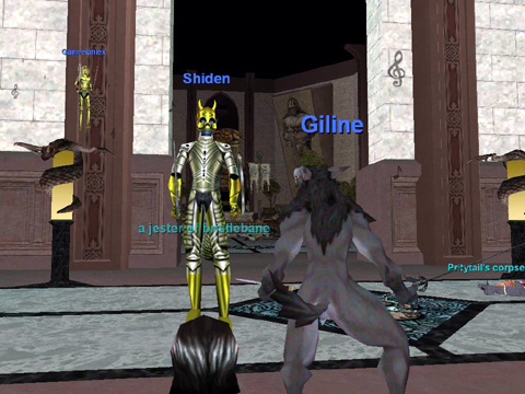 Guild Lobbyの風景その2