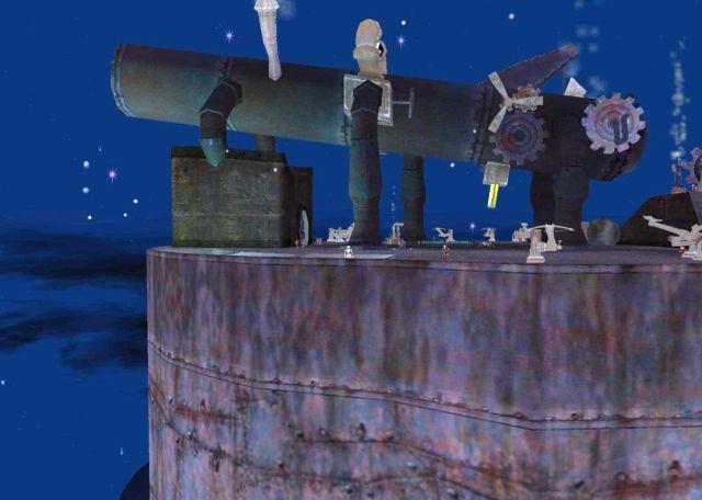 Gyrospire Zekaの屋上に到達