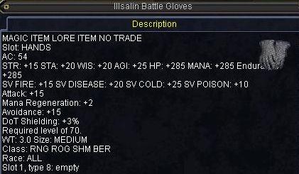 Illsalin Battle Gloves