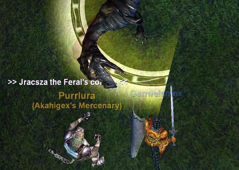 Jracsza the Feral無事退治