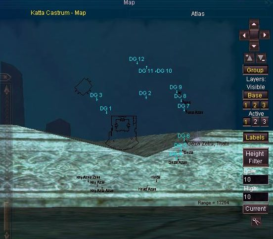 Kattaのポータル巡りポイント
