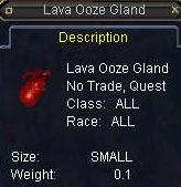 Lava Ooze Gland