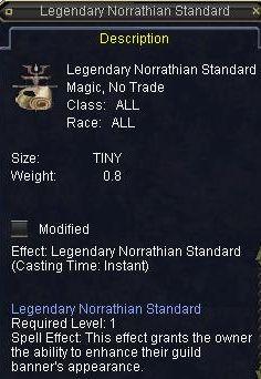 Legendary Norrathian Standard