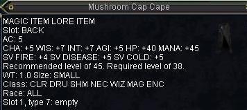 Mushroom Cap Cape