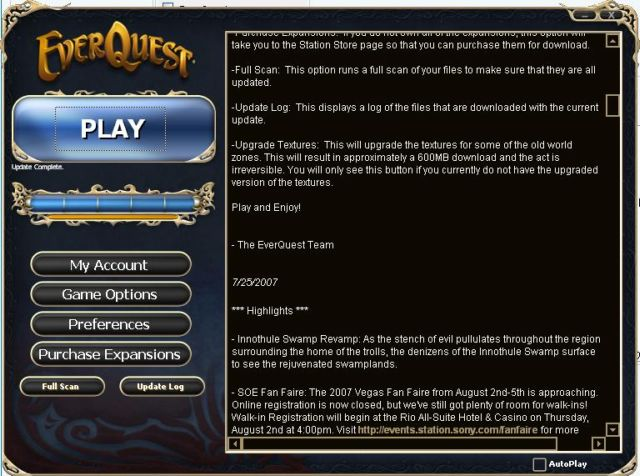 EverQuest LaunchPad