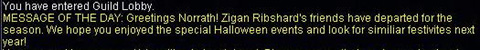 Halloween Event終了宣言