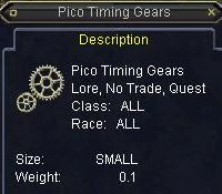 Pico Timing Gears