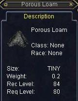 Porous Loam