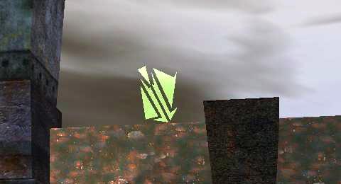 東の空に見える謎の回転するオブジェ