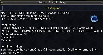 Shard of Nargilor Magic