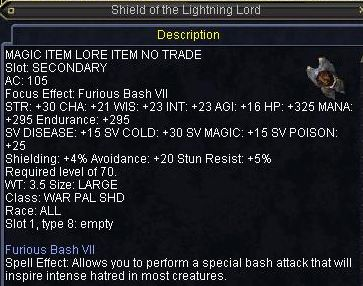Shield of the Lightning Lord