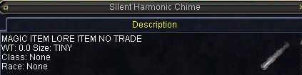 Silent Harmonic Chime