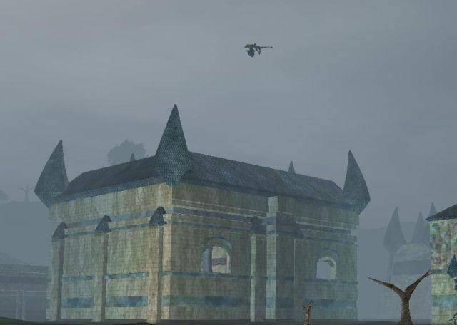 Kaesoraの上を飛ぶKosokah