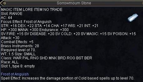 Sorrowmourn Stone